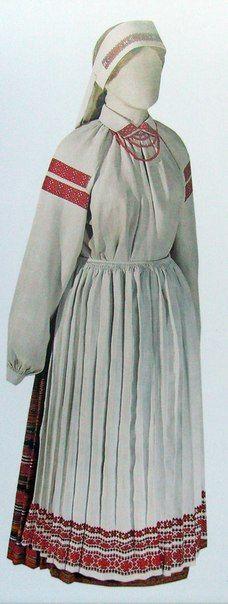 Belarusian folk dress