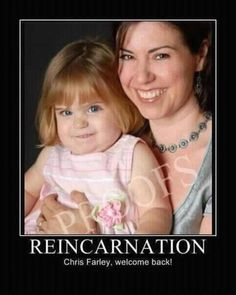 Chris Farley LIVES!!!!