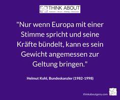 In Gedenken an einen großen Europäer. Ruhe in Frieden, Dr. Helmut Kohl