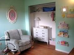 Resultado de imagen de nursery white and see blue