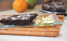 Gâteau fondant au chocolat sans beurre ni sucre