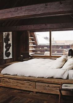 bedroom #wood #nature #design