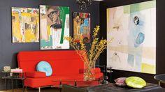Un appartement digne d'une galerie d'art