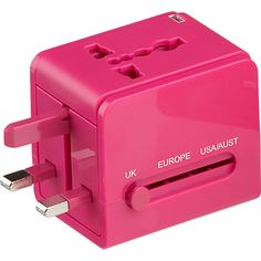 Univeral Travel Adapter | CB2 | $22.95 | gifts for her, trendy traveler