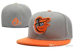 Mlb Baltimore Orioles Baseball Cap Embroidery Front Logo Altenate O'A On Field Fitted Hat Mens Caps La Cap From Zanecs, $8.17  Dhgate.Com