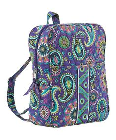 Take a look at this Paisley Punch Backpack by Bella Taylor Handbags on #zulily today!