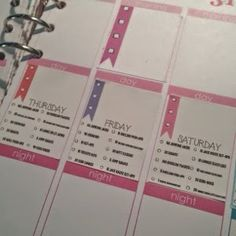 Daily workout routine stickers to fit erin condren squares - Wendaful