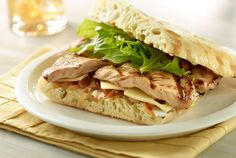 Grilled Turkey Breast Sandwich | #grilled #sandwiches #turkey #JennieO | https://www.jennieo.com/recipes/681-Grilled-Turkey-Breast-Sandwich