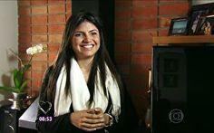 Tássila, uma das participantes do Jogo de Panelas IX, comenta seu jantar