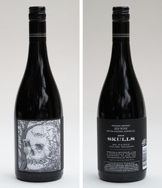 There seems to be a number of wines with skulls on them. Are they trying to send a message?