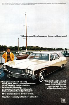 1967 Advertisement for the Buick Sportwagon