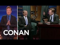 Team Coco: Conan Says Thank You To David Letterman
