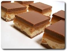 Snickers Fudge....Four layers of DELISH! toocoolez