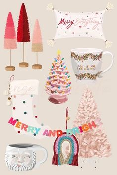 Christmas Stickers, Pink Christmas, Christmas Themes, Merry Christmas, Christmas Phone Wallpaper, Xmas Wallpaper, Instagram Christmas, Christmas Poster, Instagram Highlight Icons