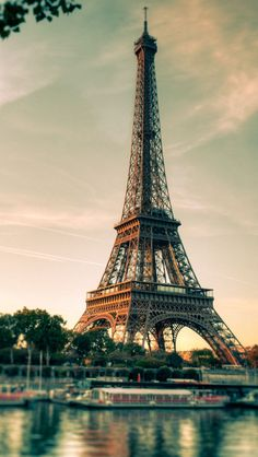 Beautiful view! | #Paris #France #Eiffel eiffel tower, towers, dream, paris france cafe, beauti, visit, travel, place, thing