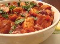 Homemade vegetarian chili with both tempeh and beans means this chili recipe packs a powerful protein boost. I kept this tempeh chili recipe vegan, but you could always top it off with cheese and sour cream, if you'd like.