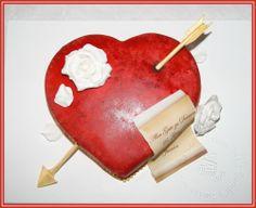 Herz aus als Hochzeitstorte Idee