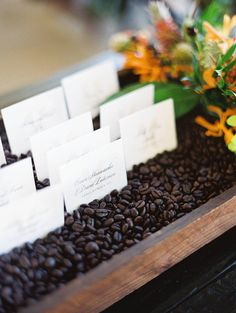 9 Wedding Details for Coffee Addicts | Photo by: Ashley Goodwin Photography | TheKnot.com