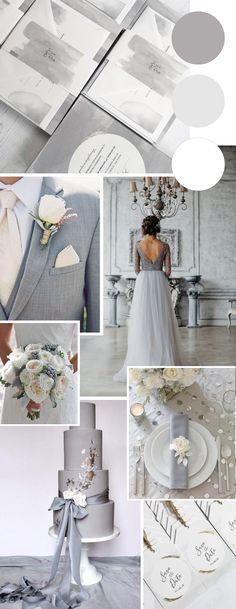Silver Wedding Colours, Grey Wedding Theme, Bear Wedding, Sage Green Wedding, Wedding White, Wedding Color Schemes, Wedding Invitation Inspiration, Wedding Inspiration, Wedding Ideas