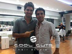 Alvaro de Cool Cuts Hair Studio y un cambio de look a Thian.