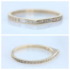 The NEW Eternity Bateau Ring! Available exclusively at Catbirdnyc.com
