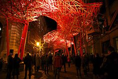The Sequence: Art Installation by Arne Quinze in Belgium