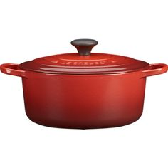 Le Creuset round 5.5 quart Dutch oven in Cherry (For Mel)