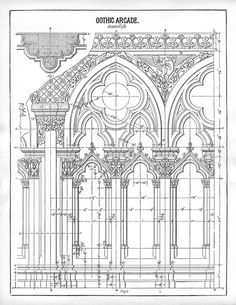 gothic architecture diagram - Buscar con Google