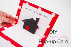 """There's lots of cute and funny Valentines Day cards out there, but nothing beats handmade! I've made this free printable card so you can say """"I love you"""" in a…"""