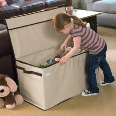 Large Collapsible Canvas Toy Box $59.70