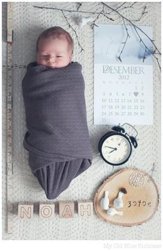 Newborn pic idea <3