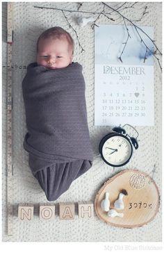 Newborn pic idea <3
