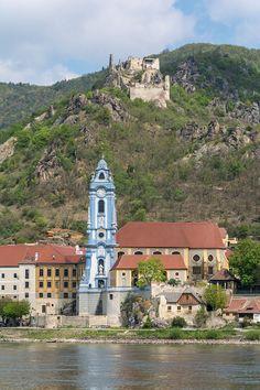Stiftskirche und Burgruine Dürnstein