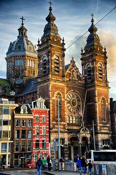 Amsterdam. Basílica de San Nicolás.