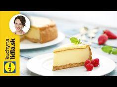 Cheesecake s citrónovým krémom - Adriana Poláková - recepty kuchynalidla. Baking Videos, Food Videos, Lidl, Catering, Youtube, Desserts, Recipes, Cakes, Catering Business