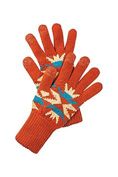 10 Touchscreen Gloves That Aren't Completely Ugly  The next best thing to actually wearing a blanket out. $20, pendleton-usa.com.