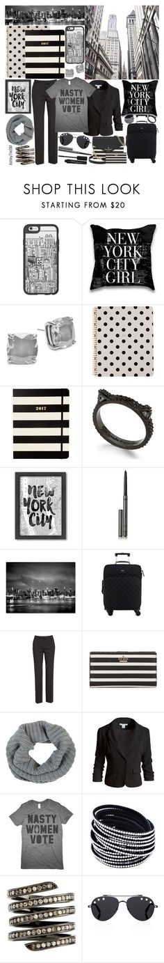 """Packing for New York 💼"" by ashleythesm ❤ liked on Polyvore featuring Casetify, Kate Spade, Americanflat, Burberry, Trademark Fine Art, Lafayette 148 New York, Barneys New York, Sans Souci, Lynn Ban and Givenchy"