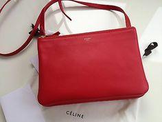 Celine Trio in red