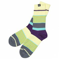 MINGA BERLIN LAYER CAKE  Striped socks from the collection Bang Pastels from MINGA BERLIN.