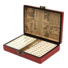 Mah-Jong Set // Price: $45.95 & FREE Shipping Worldwide //  We accept PayPal and Credit Cards.    #gameronboard #boardgame #cardgame #game #puzzle #maze #toys #chess #dice #kendama #playingcards #tilegames