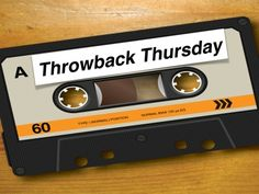 It's #ThrowbackThursday at tswmall and today is ALL about good music. We love celebrating old school classics because let's be honest, it is kryptonite! There is something about listening to an oldie and reminiscing about a simpler time, that can't be beat! So, let tswmall bring you the nostalgia of yesterday. You are welcome!