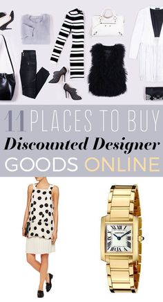 11 Places To Buy Affordable Designer Goods Online