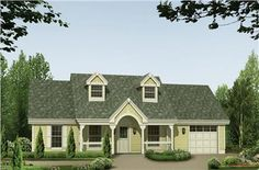 House Plans and Home Plans - Between 1000-1500 Square Feet