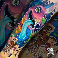 Tatuagem colorida: Joga mais cor que está pouco! - Blog Tattoo2me Blog, First Tattoo, Color Tattoo, Colourful Art, Tattoos Pics, Get A Tattoo, Tatoo, Colors, Dibujo