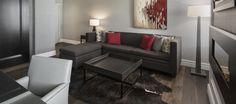 LEMAYMICHAUD | INTERIOR DESIGN | ARCHITECTURE | QUEBEC | Hotel Manoir Victoria Victoria, Architecture, Quebec, Couch, Interior Design, Furniture, Home Decor, The Mansion, Arquitetura