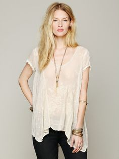 Johnny Was Embroidered Confections Top at Free People Clothing Boutique