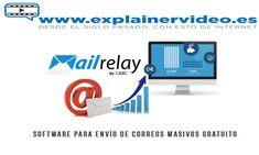 #SoftwareParaEnvioDeCorreos  Software para el envío de correos masivos gratuito y profesional Videos, Software, Personal Care, Board, Self Care, Personal Hygiene