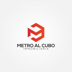 Inmobiliaria Metro al Cubo - Real State developer chilean new firm needs a cubit meter logo