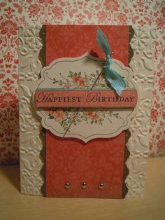 Happiest Birthday by ahelynck - Cards and Paper Crafts at Splitcoaststampers