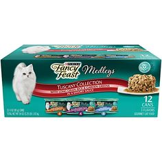 Purina Fancy Feast Wet Cat Food Elegant Medleys Tuscany Collection 3Ounce Can Pack of 12 Pack of 2 >>> Click on the image for additional details.